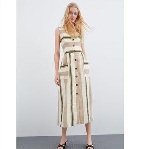 Striped Rustic Dress